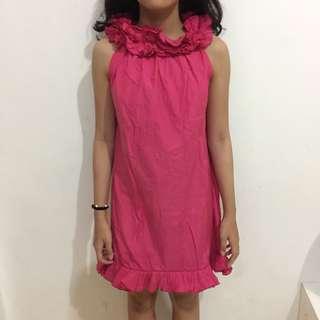 Dress Kondangan Pink