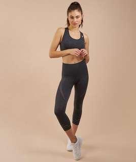 Gymshark energy seamless leggings black Size M