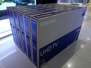 Samsung 55 inch UA655NU7100 Real 4K UHD smart led TV