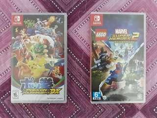 Pokken Tournament DX + Lego Marvel Super Heroes 2