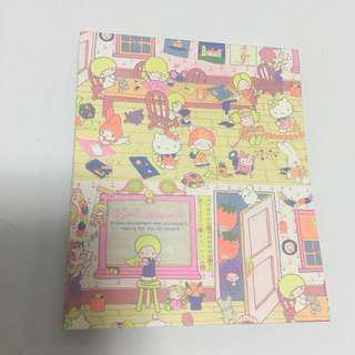 Sanrio mini note book
