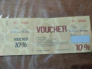 ZOO NEGARA vouchers