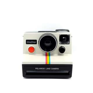 Polaroid White Rainbow Land Camera