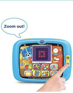 🚚 VTech Light-Up Baby Touch Tablet - Blue