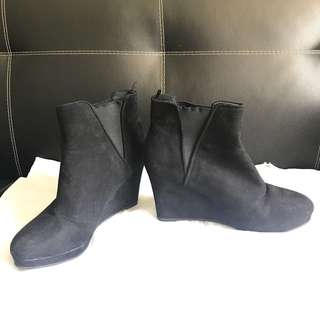H&M wedge boots