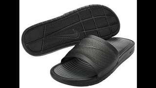 收購 這雙 NIKE 拖鞋 nike 431884-001 sb SB 431884 001 431884001 全黑 黑 耐吉