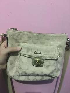 Authentic Used Coach Sling Bag
