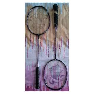 Black Knight badminton set