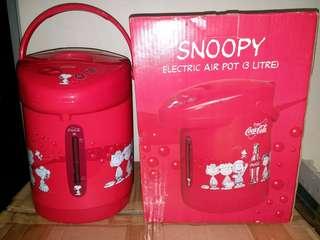 可口可樂SNOOPY電熱水壺(3公升)