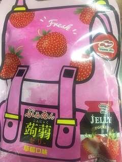 🚚 蒟蒻果凍~草莓風味,葡萄風味,綜合口味草莓🍓葡萄🍇水蜜桃🍑芒果口味