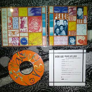 Dick Lee - Peace Life Love CD