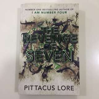 The revenge of seven (I am number four series)