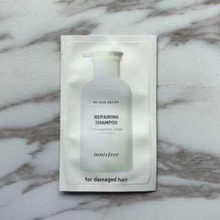 🚚 Innisfree My Hair Recipe Repairing Shampoo (5ml)