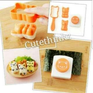 Cat Rice Mould Set