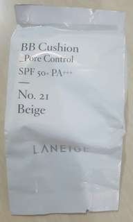 bb cushion pore control (beige) #21