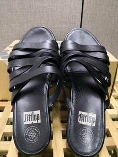 Authentic FITFLOP Lumy Leather Slides