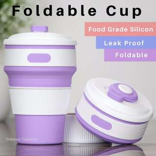 Multi-function Silicone Travel Water Cup / Coffee cup / Folding Cup / Telescopic Collapsible Drinking Cup