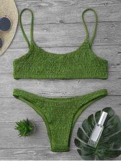 Bnew smocked bikini set✨