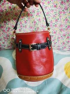 Authentic Carlo Rino Small Bucket Bag