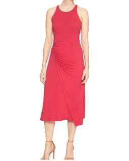 GAP Pink Midi Dress
