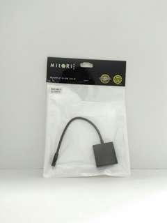 🚚 MITORI Micro HDMI to VGA Converter