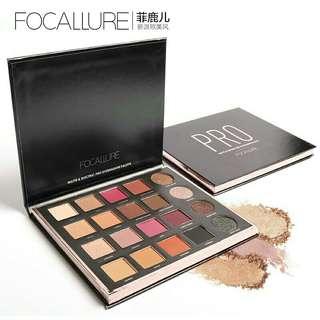 PO focallure pro 20 warna eyeshadow