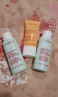 Clarins Cleanser Set
