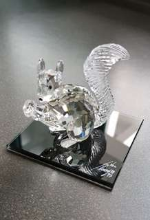 34 Swarovski Crystal - SCS 10th Anniversary Squirrel (1997)