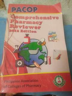 PACOP Comprehensive Pharmacy Reviewer 2012 Edition