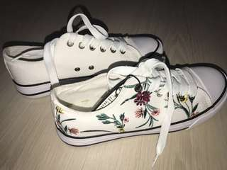 Embroidered Rubi Sneakers