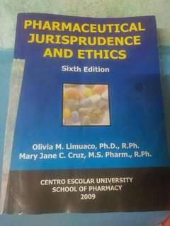 Pharmaceutical Jurisprudence and Ethics 6th Edition by Olivia Limuaco and Mary Jane Cruz