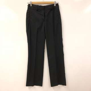 黑色長褲 LV louis vuitton black pants size 34