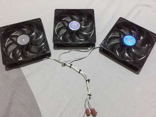 Cooler Master 120mm Case Fan with USB Fan Dongle