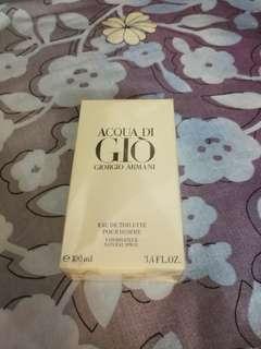 Aqcua Di Gio Authentic Tester Perfume 100ml
