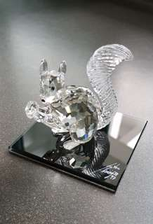 34 Swarovski Crystal - SCS 10th Anniversary Squirrel (1997) -(LE)