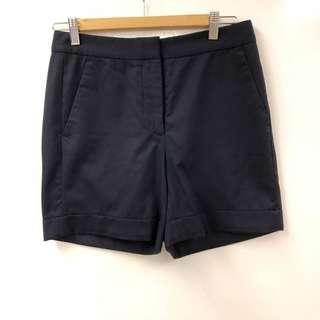 Stella mccartney navy dark blue shorts size 38