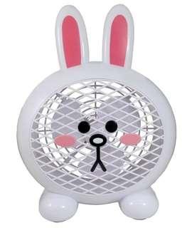 LINE 兔兔USB造型風扇