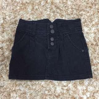 Terranova Black Denim Skirt