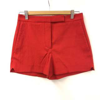 Carven red shorts size 36