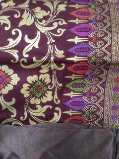Meara Merah Hati Batik Songket