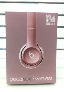 Beats Solo 2 wireless headphones - Rose Gold special edition