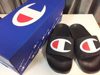 Champion Logo Slide Sandal