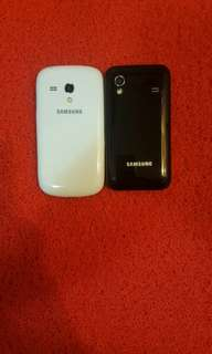 Samsung galaxy s3 mini and Samsung ace tow