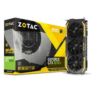 Zotac GTX 1070 Ti AMP Extreme