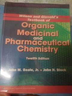 Organic Medical and Pharmaceutical Chemistry 12th Edition by Beale and Block