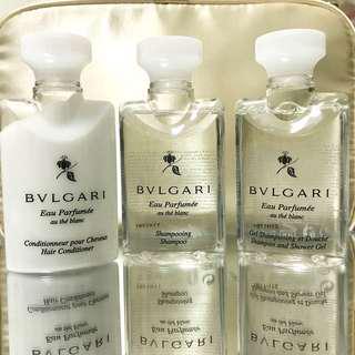 全新 Bvlgari 沐浴露和洗髮水套裝
