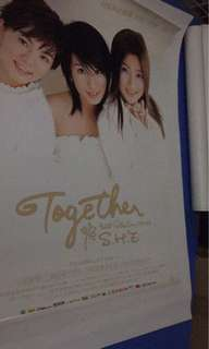 S.H.E together  official poster Hebe Ella Selina