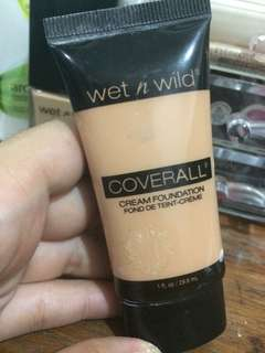 Wet n wild cream foundie