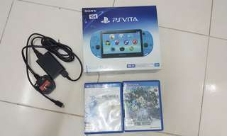 Ps Vita 2k with 2 games + 8GB