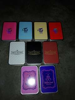 Twice metal case